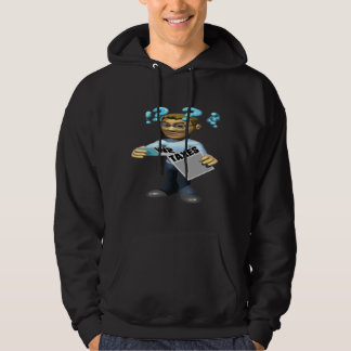 Impuestos de la limadura jersey encapuchado