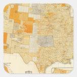 Impuestos per capita, condados pegatina cuadrada