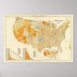 Impuestos per capita, condados póster