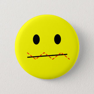 'impulse control ' SMILEY FACE PIN