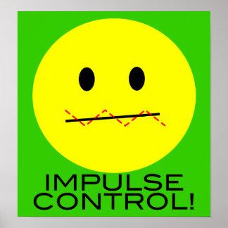 'impulse control    SMILEY FACE PRINT