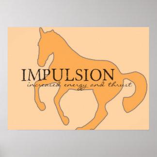 IMPULSION 16 x 22 Canvas Print
