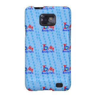 Impulsión de la adopción de Bark4Rescue Samsung Galaxy SII Carcasa