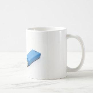 Impulsión de memoria USB Taza Básica Blanca