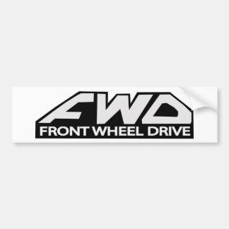 Impulsión de rueda delantera del FWD Pegatina Para Auto