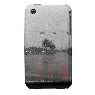 Impulsión del día lluvioso iPhone 3 Case-Mate cobertura