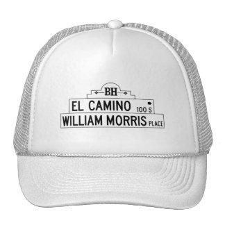 Impulsión del EL Camino, Los Ángeles, placa de Gorras De Camionero