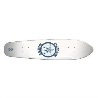 Impulsión del océano tabla de patinar