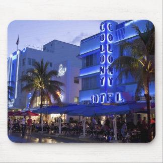 Impulsión del océano, playa del sur, Miami Beach,  Alfombrillas De Raton