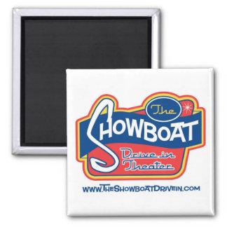 Impulsión del Showboat en imán del refrigerador