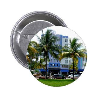 Impulsión Miami del océano Pin Redondo De 2 Pulgadas