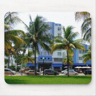 Impulsión Miami del océano Alfombrilla De Ratón