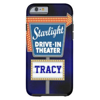Impulsión nocturna de las estrellas en teatro funda para iPhone 6 tough