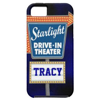 Impulsión nocturna de las estrellas en teatro iPhone 5 funda