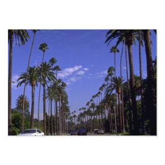"""Impulsión residencial del rodeo, Beverly Hills, Invitación 5"""" X 7"""""""