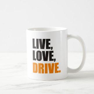 impulsión taza de café