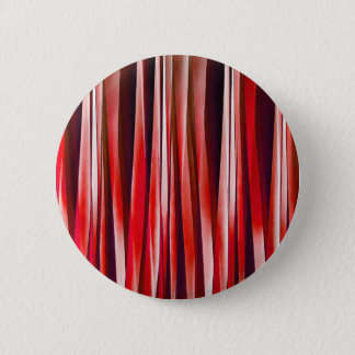 Impulsive Adventure Red Striped Abstract Pattern Pinback Button