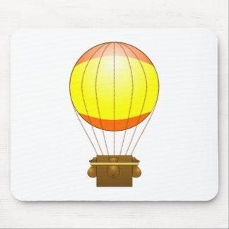 Impulso del aire caliente del dibujo animado mouse pads