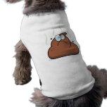 Impulso del dibujo animado camisetas de perro