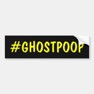 Impulso del fantasma de Hashtag Pegatina Para Auto