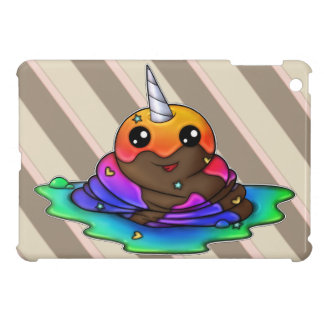 Impulso del unicornio del arco iris iPad mini cárcasa