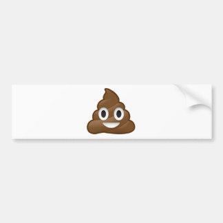 Impulso sonriente Emoji Pegatina Para Auto
