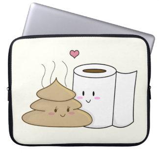 Impulso y papel higiénico funda ordendadores