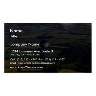 Impulso y visión de aire caliente plantillas de tarjeta de negocio