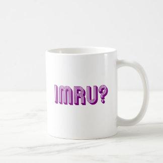 IMRU? COFFEE MUGS