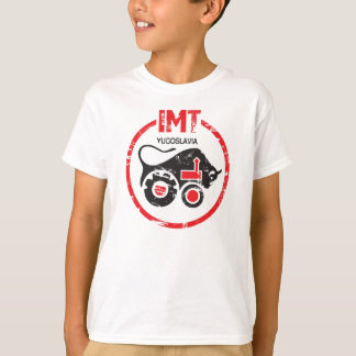 IMT Tractor Vintage Style Yugoslavia Production T-Shirt
