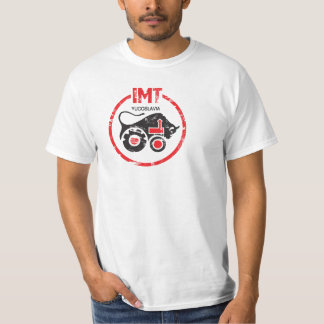 IMT Tractor Vintage Style Yugoslavia Production. T Shirts
