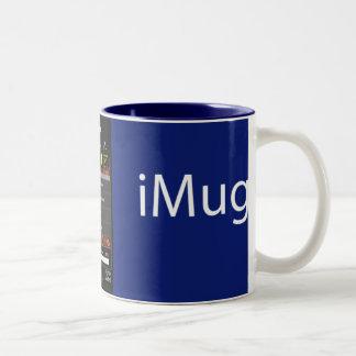 iMug AllBlue Two-Tone Coffee Mug
