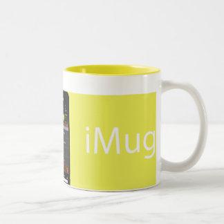 iMug AllYellow Two-Tone Coffee Mug