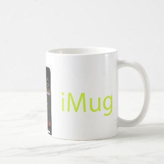 iMug Lime Grande Classic White Coffee Mug