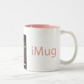iMug Pink alternative Two-Tone Coffee Mug