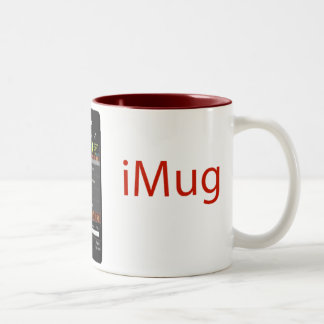 iMug Red Grande Two-Tone Coffee Mug