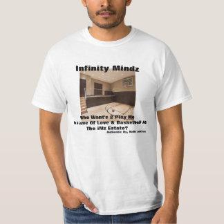 """iMz """"Indoor Basketball Court"""" T-Shirt"""