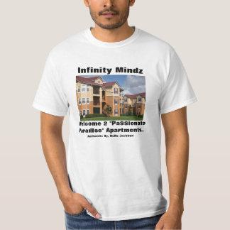 "iMz ""Pa$$ionate Paradise Low Income Apartments"" ad Tshirts"