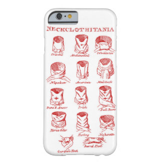 In 1818 Tying Ties Trumped all Skills IPHONE COVER