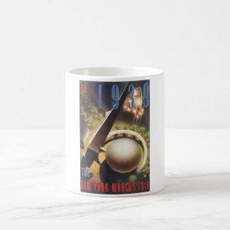 In 1939 New York's World's Fair Vintage Travel Pos Coffee Mug