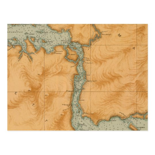In 30 of Juanico Strait Postcard