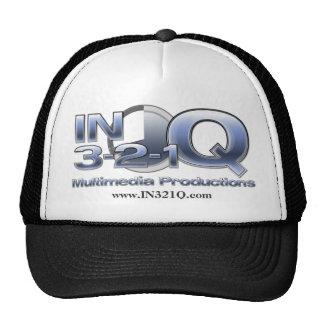 IN 3-2-1-Q Ball Cap Trucker Hat