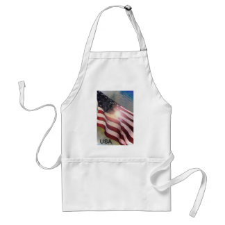 In A Blaze of Glory Adult Apron