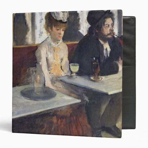 In a Cafe, or The Absinthe, c.1875-76 Vinyl Binders