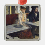 In a Cafe, or The Absinthe, c.1875-76 Christmas Tree Ornaments