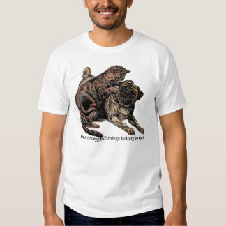 In a Cat's Eye T-Shirt