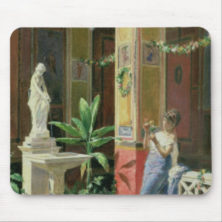 In a Courtyard in Pompeii, 1878 Mouse Pad