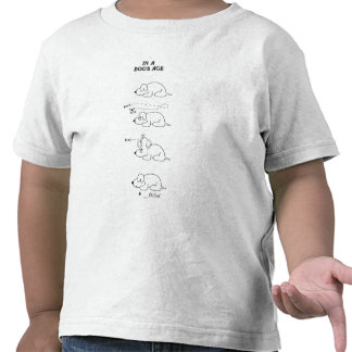 In a Dog's Age T-shirts