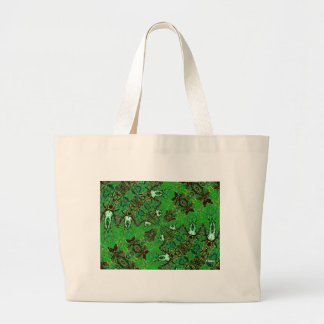 In a Field of Green Canvas Bags
