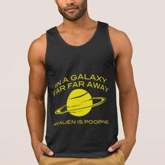 In A Galaxy Far Far Away An Alien Is Pooping Tank Top